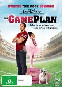 Game Plan DVD Disney Movie Family Kids - Dwayne The Rock Johnson - FAST POST