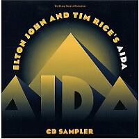 ELTON JOHN & TIM RICE - Aida CD Sampler -RARE US CD-NEW