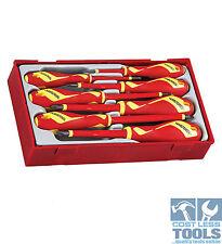 Teng Tools 7 pce 1000 Volt Screwdriver Set TTV907