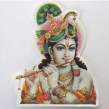 Aufkleber Sticker 2x KRISHNA Indien Goa Hippie God-Stickers India OM /10 cm /24