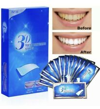 3D TEETH WHITENING STRIPS, PROFESSIONAL WHITE FROM 1 DAY UP TO 2 WEEKS SUPPLY