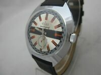 NOS NEW VINTAGE MECHANICAL HAND WINDING SHOCK RESIST MENS ELVES ANALOG WATCH 60'