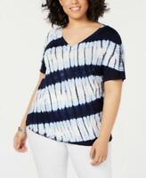 MSRP $70 I.n.c. Plus Size Tie-Dye T-Shirt , Size 3X