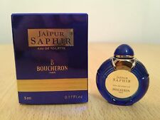 Jaipur Saphir Boucheron for women 5ml EDT MINI MINIATURE PERFUME New RARE