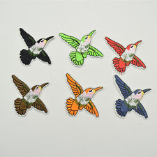 30ps Small Bird Iron on Applique Patch Embroidered Patches Sew On for DIY Craft