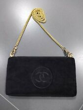 NEW DIY gold Chain on Chanel CC LOGO MAKEUP POUCH CLUTCH BAG