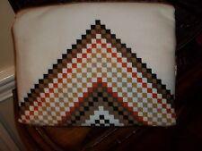 New Target Home Beige Aztec Chevron Pattern Twin Duvet Cover Set 2pc
