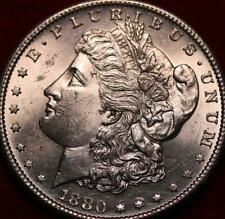 Uncirculated 1880-S San Francisco Mint Silver Morgan Dollar