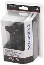 controller ps3 NERO SONY WIRELESS SENZA FILI JOYPAD JOYSTICK BLUETOOTH NUOVO PS3