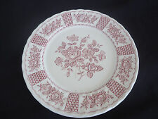 churchill china england red melody georgian collection dinner plate 12 available