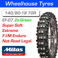 Mitas EF-07 Super Soft 140/80-18 70R F.I.M Enduro Double Green Stripe