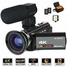4K night vision Camcorder Video Camera Ghost Hunting HD 1080P Wifi IR 16X zoom