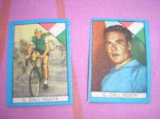 DALL'AGATA CYCLISME IMAGES CARDS FIGURINA BUSTE ACTION 1960 NANNINA ITALIE