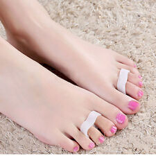 Soft Silicone Bunion Protector Toe Straightener Separator Alignment Pain ReliefJ