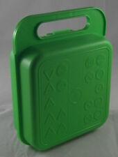 Tupperware Heinerle Box Kindergartenbox mit Griff Grün Verkehrszeichen Neu OVP