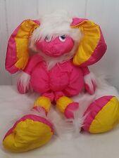 VTG 1987 Hasbro Hallmark Silly Willies Pink Nylon Plush Stuffed Animal Bird