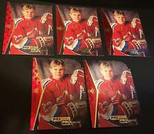 SERGEI SAMSONOV 1994-95 SP Hockey Rookie LOT of 5 PROSPECTS #189 Inc 2 DIE-CUT