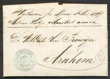KOMPLETE BRIEF UTRECHT-ARNHEM 1 MEI 1867,GESCHR.VERZONDEN PER SPOOR 1 MEI  Zi514