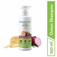 Mamaearth Onion Hair Fall Shampoo for Hair Growth & Hair Fall Control 250 ml