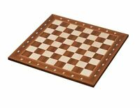 High quality standard tournament size Wood chess board Bonn 55 mm - 2,17 inch