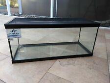 Economic 20 Gallon Glass Aquarium with Metal Cover Tank - Turtles Lizards Snakes