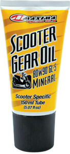 MAXIMA 80W-90 Mineral Conventional Scooter Gear Oil Lube 150ml Tube
