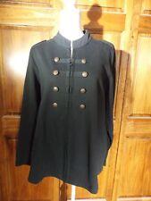 Glamorosa Sz 16 Blazer Military Inspired Blazer w/Zipper Closure