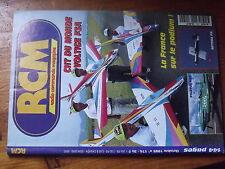 $$2 Revue RCM N°174 PLan encarte Lacey M 10  Optima PB  Pilatus PC 7  voltigeF3A