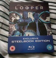 Looper blu ray steelbook bruce willis joseph gordon levitt