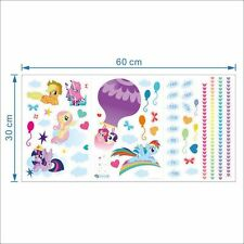 My Little Pony Height Growth Chart Wall stickers Decals Kids Nursery Girl Decor