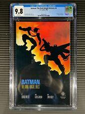 Batman: Dark Knight Returns #4 CGC 9.8 WP DC 1986 Frank Miller Superman FRESH