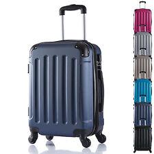 Reise Koffer Trolley Hartschalen Reisekoffer Handgepäck 4 Rollen Set M L XL #374