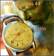Armbanduhr UMF Ruhla  Chronos M 44 vormals Gebr.Thiel   Oldtimer BMW  EMW