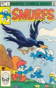 Smurfs #2 VG/FN 5.0 1983 Stock Image Low Grade