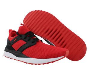 Puma Pacer Next Excel Mens Shoes, Color: High Risk Red/Puma Black