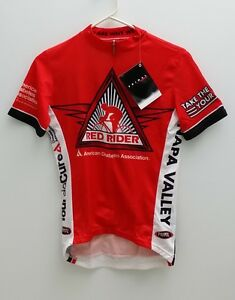 """New PRIMAL Red Rider """"American Diabetes Assoc"""" Cycling Jersey - Men's Sizes"""