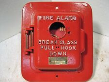 Simplex Manual coded break-glass fire alarm station