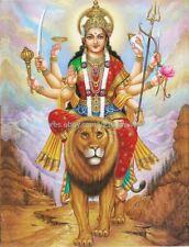 room decoration design Bhagawati Hindu goddess Durga paper poster