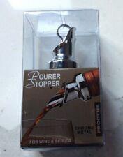 New listing Prodyne Chrome Pourer & Stopper for Wine Spirits Wp-1 New in Box