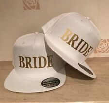 BRIDE BRIDE Snapback Pair Fashion PRINTED Caps Hip-Hop Hats Wedding Mr and Mrs