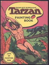 Vintage Tarzan Painting Book Rare! Unused Condition! Topsellers LTD London 1972