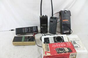 6 Vintage Transistor Walkie-Talkie CB Two-Way Radio Realistic Midland GE SS-16
