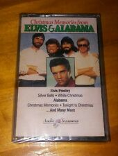Christmas Memories from Elvis and Alabama 1991 BMG Music cassette new sealed