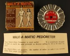 Walk-A-Matic Pedometer Vintage 1985 Chadwick Miller in box Made in Japan