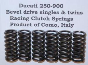 Ducati 250-900 pre-1983 bevel drive WORLD'S BEST clutch springs Made in Italy