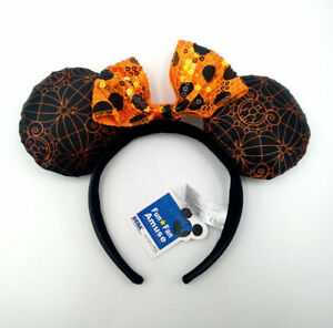 2020 Disney Parks Mickey Sequins Minnie Mouse Ears New Halloween Party