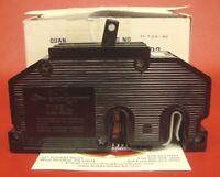1 - NEW 60 Amp Zinsco GTE Sylvania 60A Double or 2 Pole Type QC Circuit Breaker