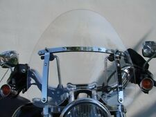 "Large Clear 19""x17"" Windshield for Harley Davidson Sportster Dyna Glide Softail"