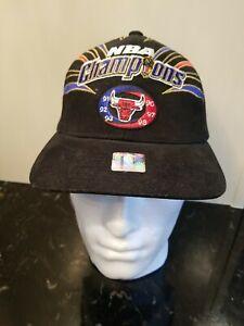 Vintage 1998 Chicago Bulls NBA Champions  Starter Hat - The Last Dance