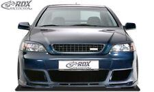 RDX Scheinwerferblenden Set Böser Blick für Opel Astra G Scheinwerfer Blenden